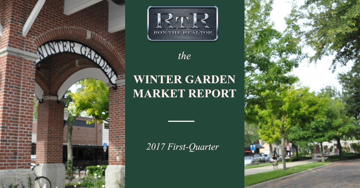 WINTER GARDEN MARKET REVIEW 1ST QUARTER 2017
