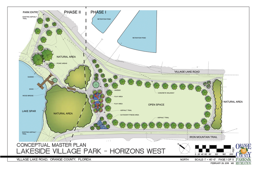 Lakeside Village Park Celebrates Phase One Construction in Windermere